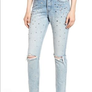 Levi's Counting Stars 501 Skinny